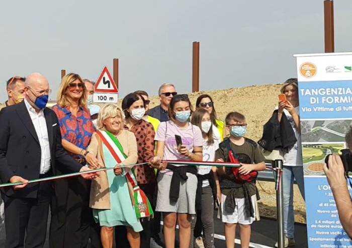 Formigine, inaugurata oggi la Tangenziale sud