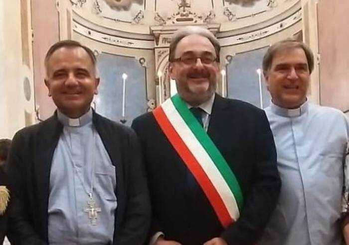 Bomporto, il saluto del sindaco al nuovo parroco