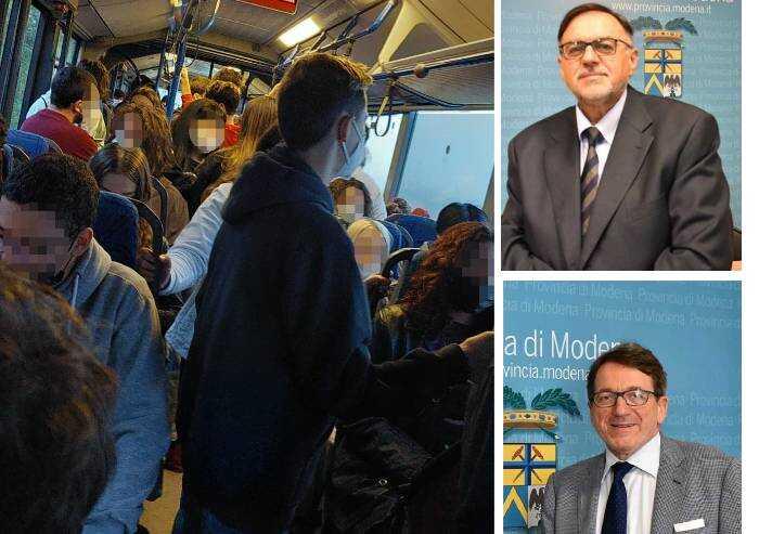 Altro che Green Pass, a Modena la vergogna corre sul bus: studenti ammassati