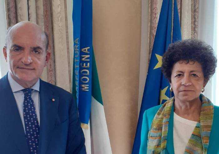 Il questore Agricola lascia Modena: il saluto del prefetto