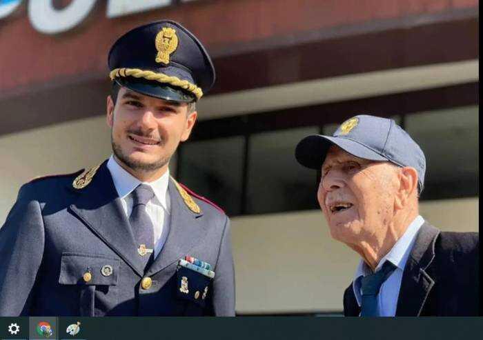 Un poliziotto di 100 anni, buon compleanno Pietro