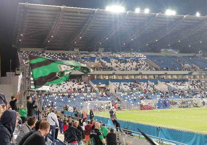Sassuolo, sogno accarezzato e svanito, vantaggio poi 1-2 con l'Inter