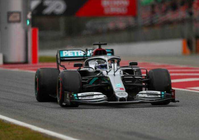 Bottas in pole position al Gp di Turchia. La Ferrari parte terza
