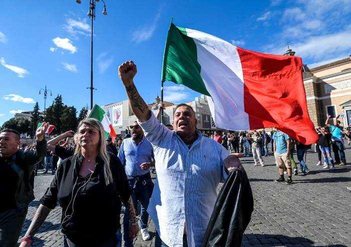 Scontri Roma, arrestati i leader di Forza Nuova Fiore e Castellino