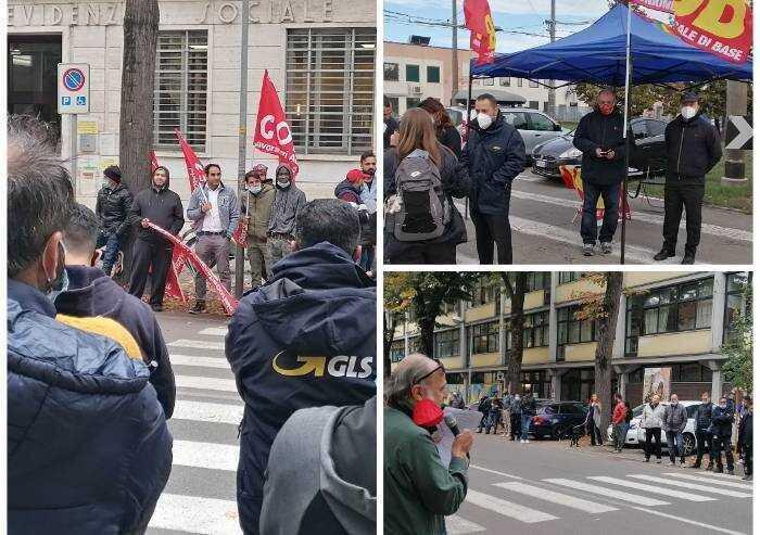 Sindacati di base uniti: sciopero e due presidi a Modena