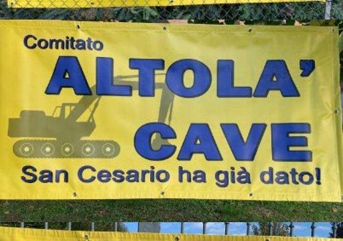 Cave San Cesario, nuovi cartelli di protesta