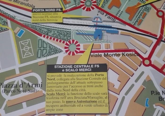 Lo scalo Merci: da Modena a Marzaglia i simboli della città che (non) cambia