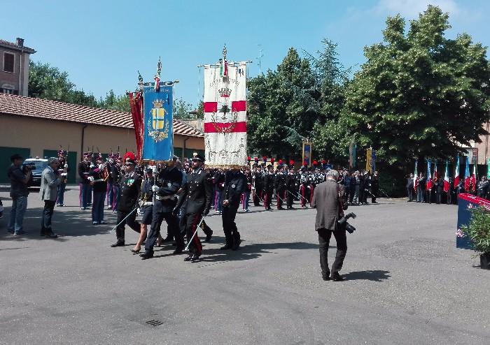 Reati in calo del 4% e arresti in aumento del 12%, l'Arma dei Carabinieri in festa