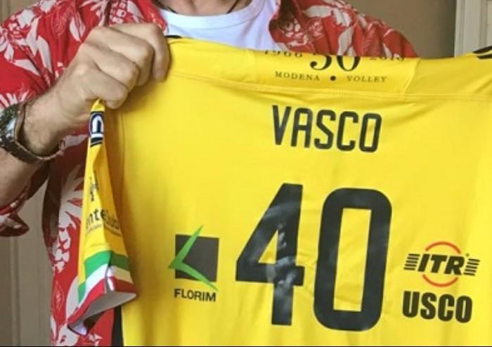 Modena Volley: a Vasco la maglia n. 40