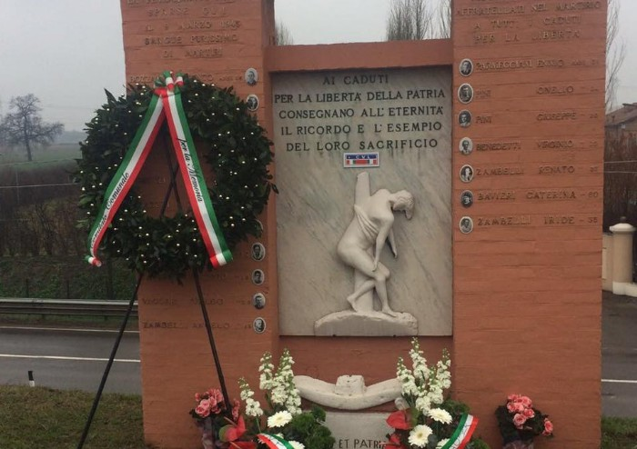 Eccidio nazifascista di Navicello: un intero territorio rende omaggio