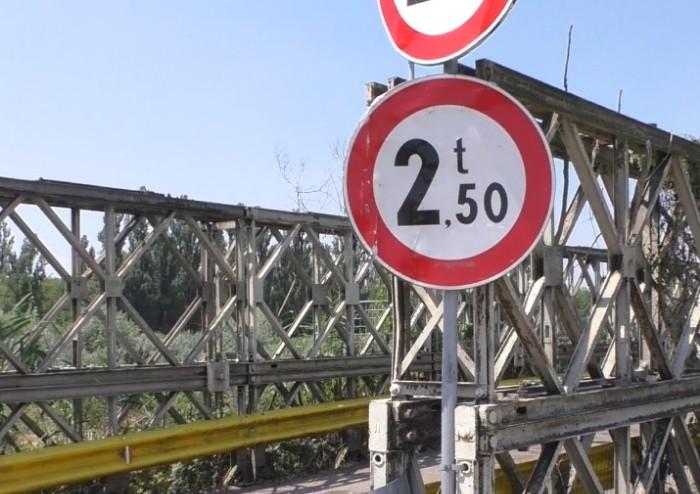 Ponte dell'Uccellino, provvisorio da venti anni...e lo rimarrà