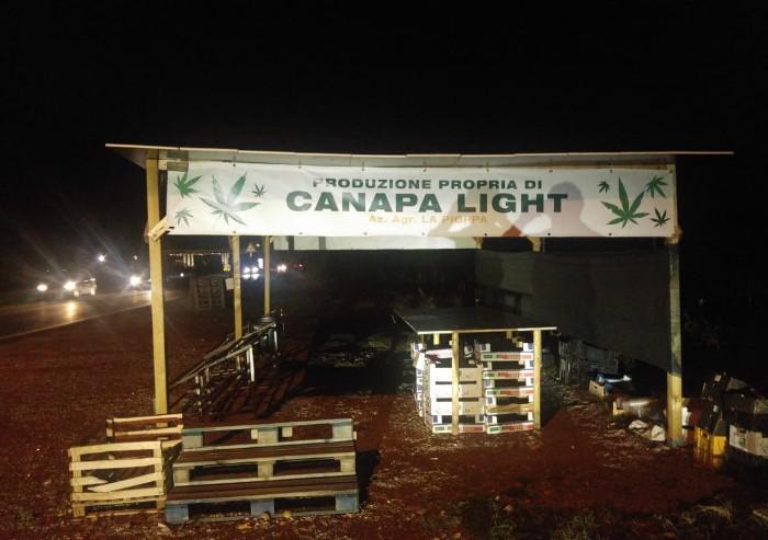 Canapa light a 2.50 euro al grammo: nuova frontiera della pubblicità