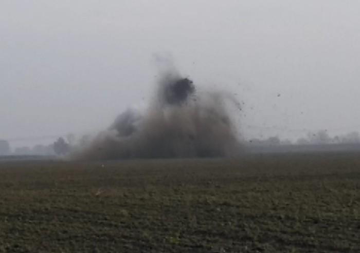 Operazione conclusa a San Felice: la bomba è stata fatta brillare