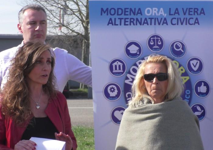 Modena Ora per Cinzia Franchini sindaco: 'Ripartiamo dalle imprese'