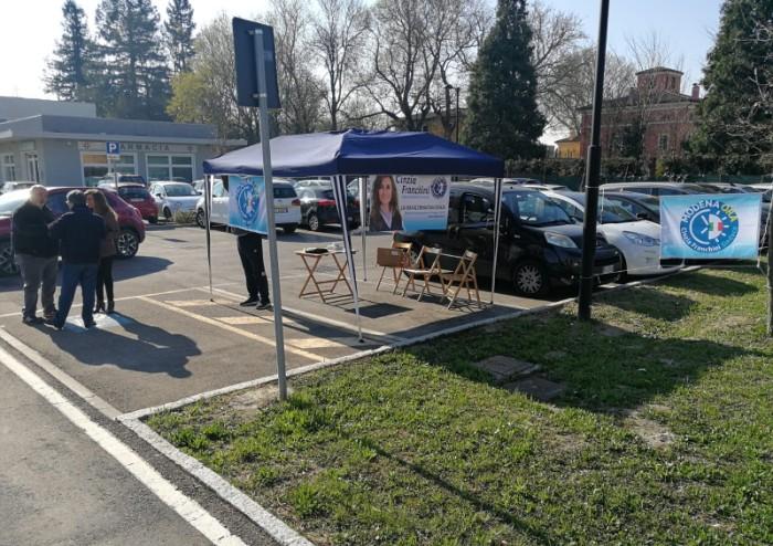 'Ad Albareto per presentare Modena Ora: inceneritore spento 5 mesi'