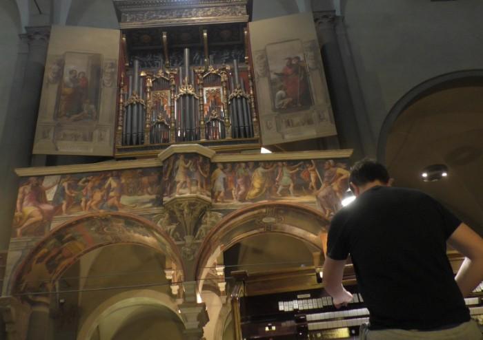 Il capolavoro restaurato: l'organo della chiesa di S. Pietro torna a suonare