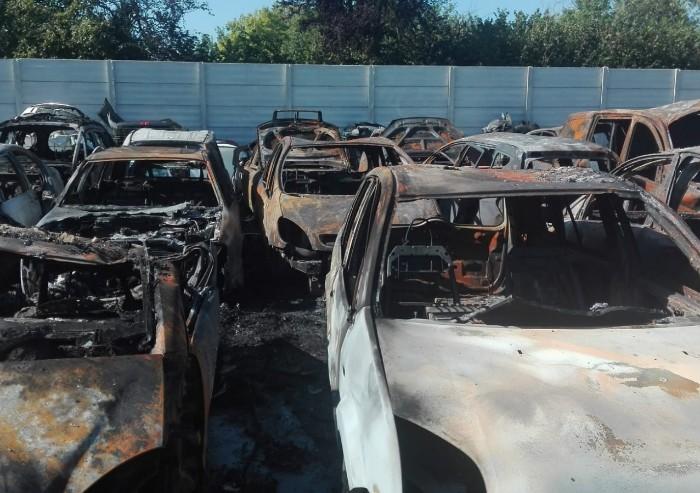 Autodemolizioni Longagnani, l'incendio è doloso: 'Mai avuto minacce'