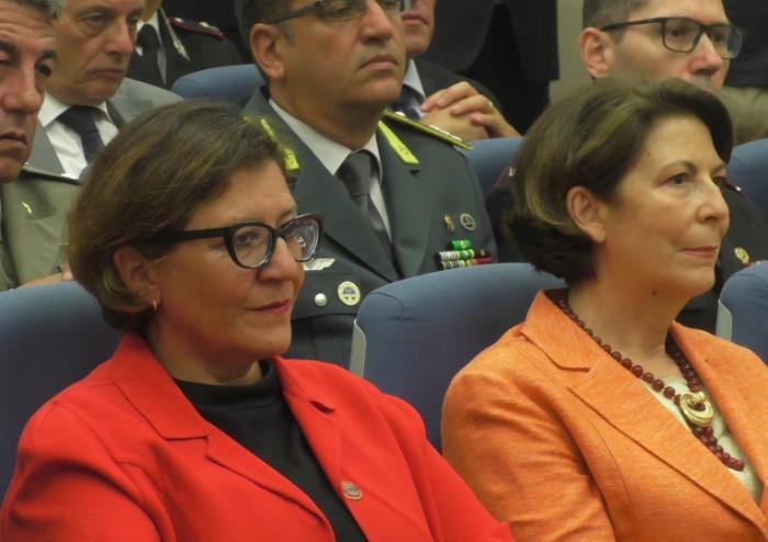 Acceso il tripode olimpico: il ministro Trenta inaugura i mondiali di volo a vela