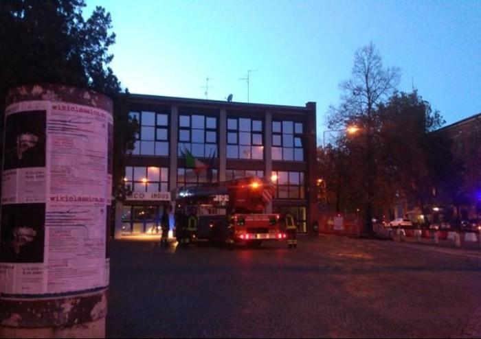 Guasto alla caldaia, vigili del fuoco intervengono al Corni di Modena