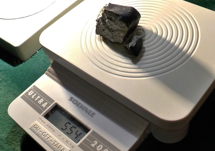 Il meteorite di Capodanno ritrovato nella Bassa