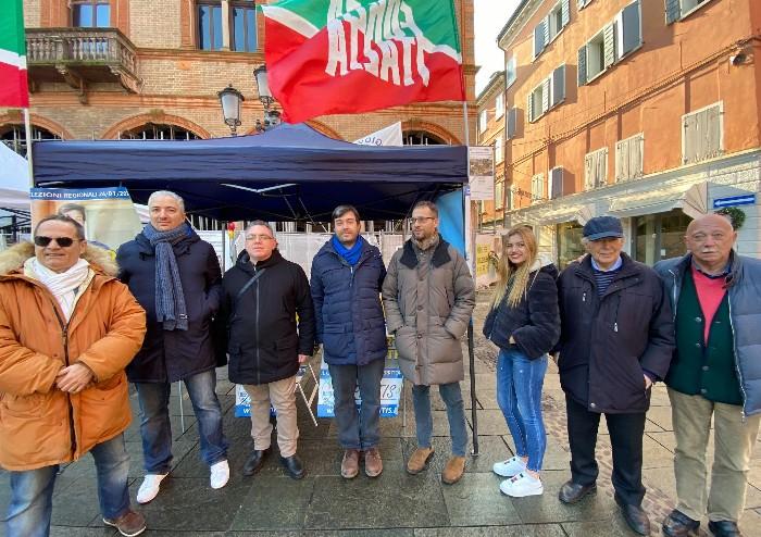 Regionali Forza Italia, Sgarbi a San Donnino per la corsa di Galli