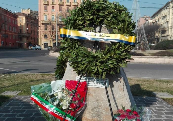 Giorno Ricordo, Modena si ferma per l'omaggio ai martiri delle Foibe