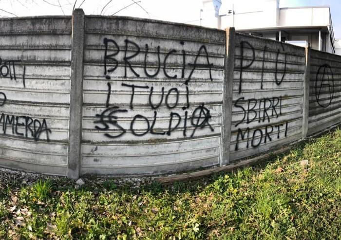 Rave party alla Madonnina, insulti a poliziotti e minacce a Salvini