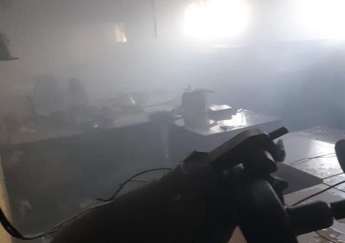 Rivolta carcere, le foto della devastazioni all'interno del Sant'Anna