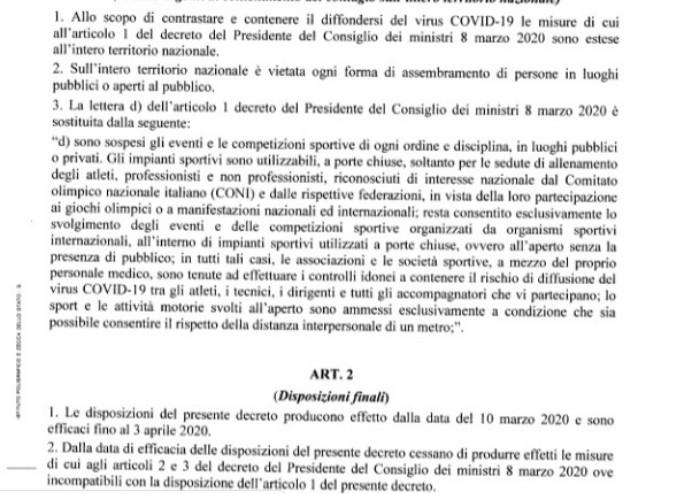 Conte estende restrizioni a tutta Italia: 'Sarà tutta zona protetta'