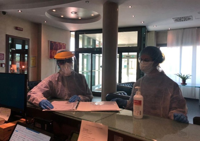 Hotel-covid di San Possidonio chiude: uscito anche l'ultimo paziente