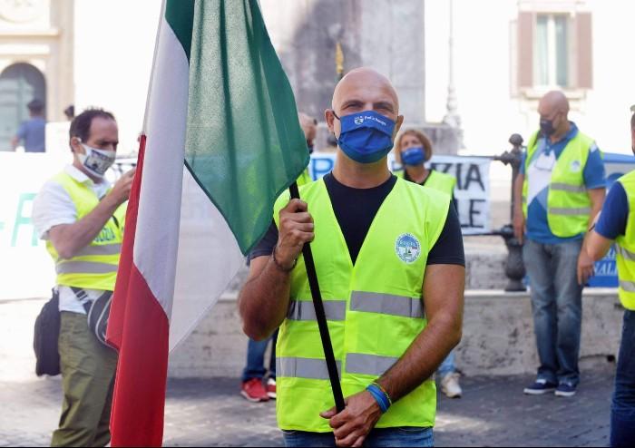 Polizia locale, tanti modenesi alla manifestazione di ieri a Roma