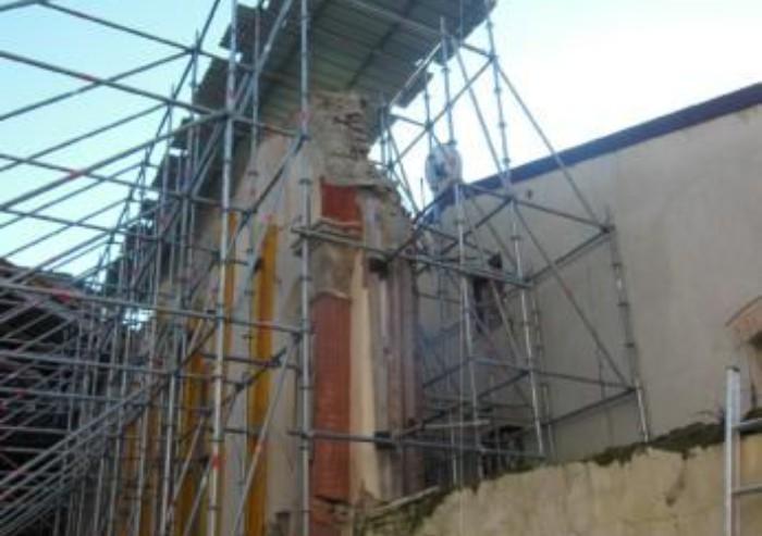 Mirandola, chiesa di San Francesco: proseguono i lavori di recupero