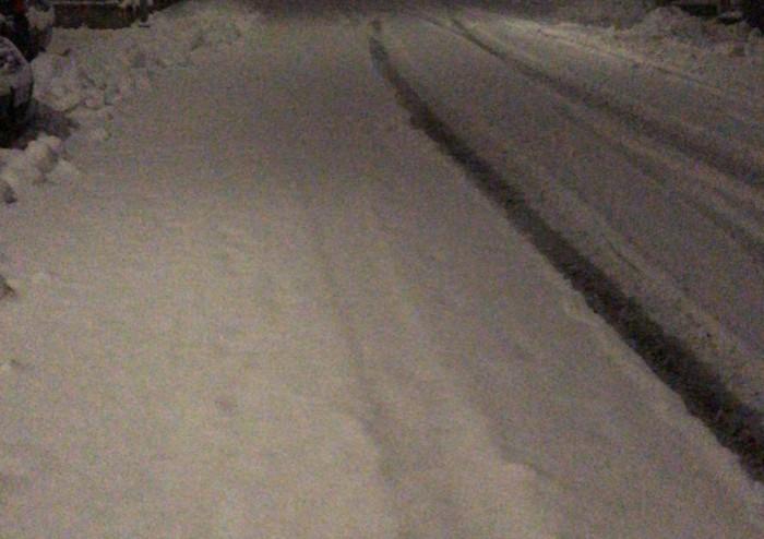 Neve anche in pianura, abbondante in montagna, disagi sull'Estense