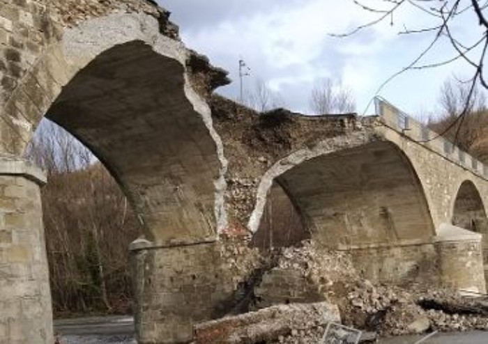 Cedimento Ponte Samone, ora i costi per il ripristino triplicano