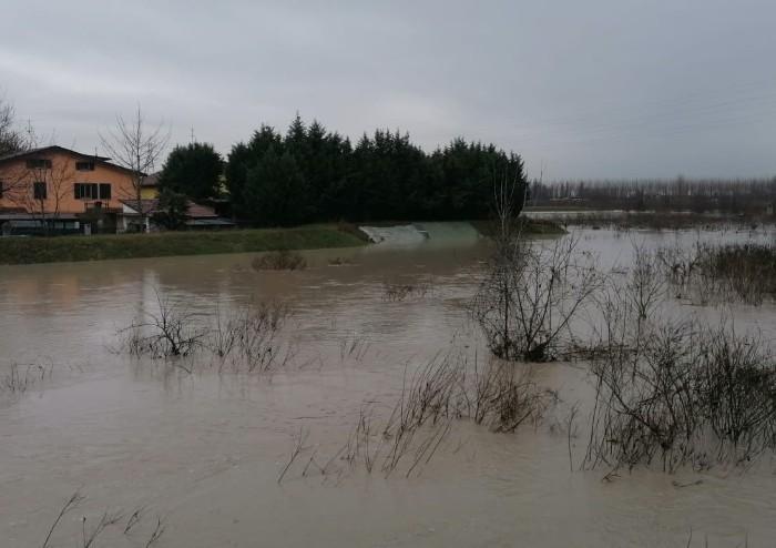 Modena, piena dei fiumi: restano chiusi Ponte Uccellino e Ponte Alto