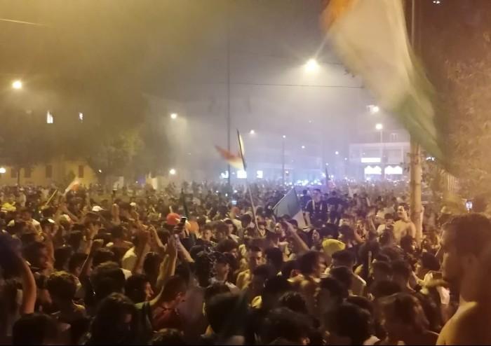 Italia campione d'Europa: a Modena pù di 5000 in piazza