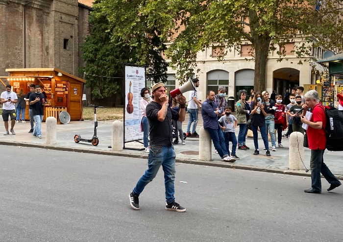 No green pass: in mille al corteo pacifico a Modena