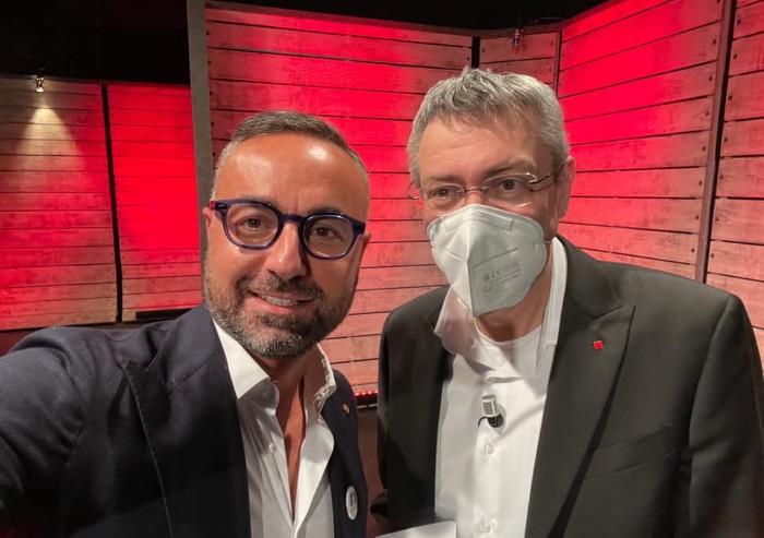 Quando Biagio Passaro veniva ospitato da Floris insieme a Landini...